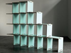 L Modular Shelving System