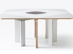 Gironde Extendible table