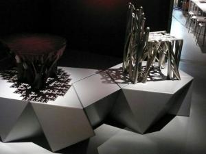 Fabrication Laboratory Exhibition displays