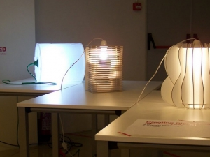 Performative lamps. Istituto Europeo di Design IED