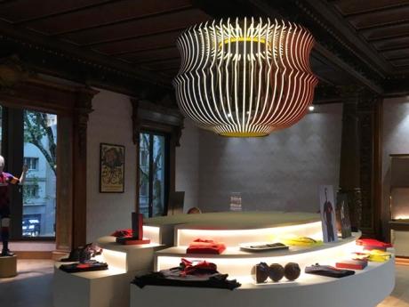 Barça Store Canaletas Lamp